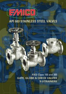 API 603 Stainless Steel Valves
