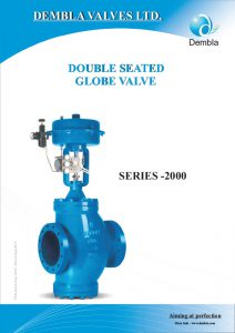 Double Seated Globe Valve