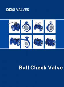 Doxi Valves Ball Check Valve