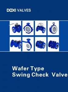 Doxi Valves Wafer Type Swing Check Valve