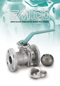Emico EA 800 Series Metal Seated Ball Valves