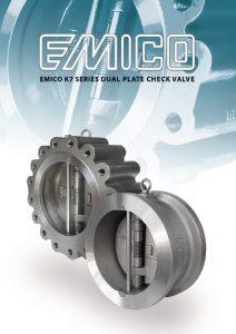 Emico K7 Series Dual Plate Check Valve