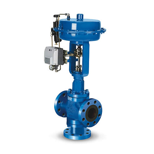 Globe Three Way Control Valve