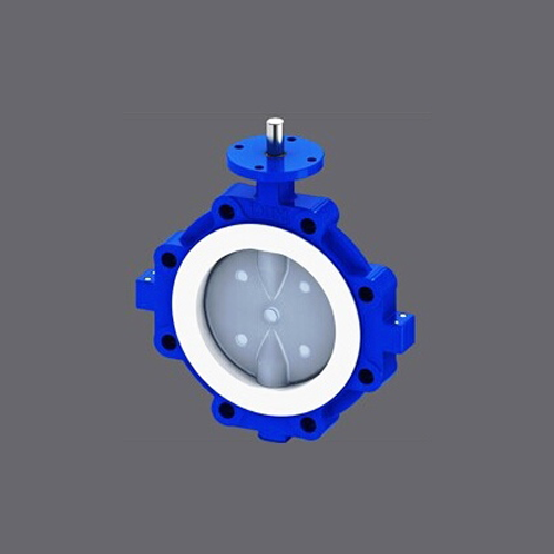 PFA Lined Lugged Butterfly Valve