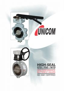 Unicom GTD FSD MTD High-Seal Catalogue