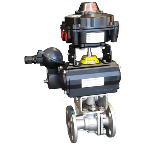 Emico EA-503 Flanged Uni-body Ball Valve
