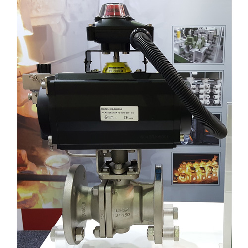 Emico EA-402C Flanged Ball Valve